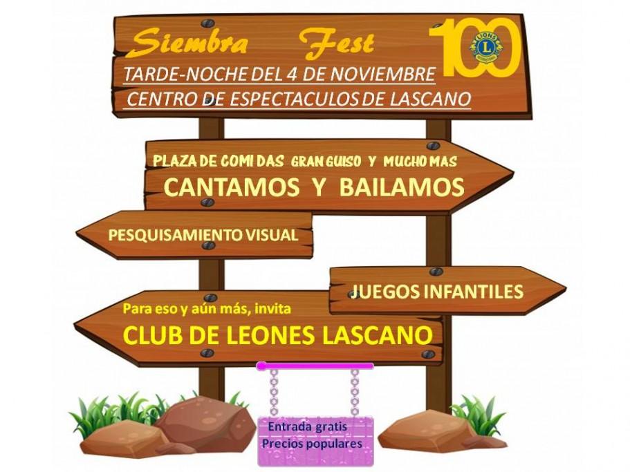 Siembra Fest en Lascano
