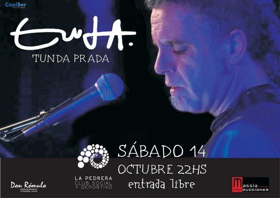 Exposición y concierto de Tunda Prada en el Club Social y Deportivo de La Pedrera