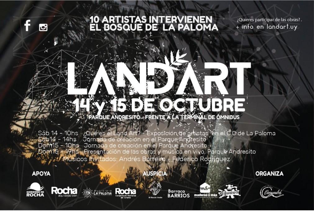Land Art: 10 artistas intervienen el bosque de La Paloma