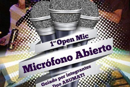 Noche de micrófono abierto en La Paloma