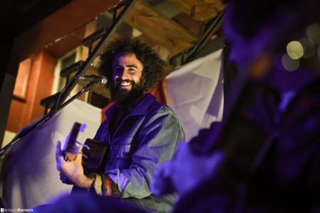 Show en vivo de Andrés Barreiro en La Paloma