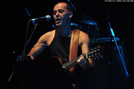 """Show en vivo de Edu """"Pitufo"""" Lombardo en Rocha"""