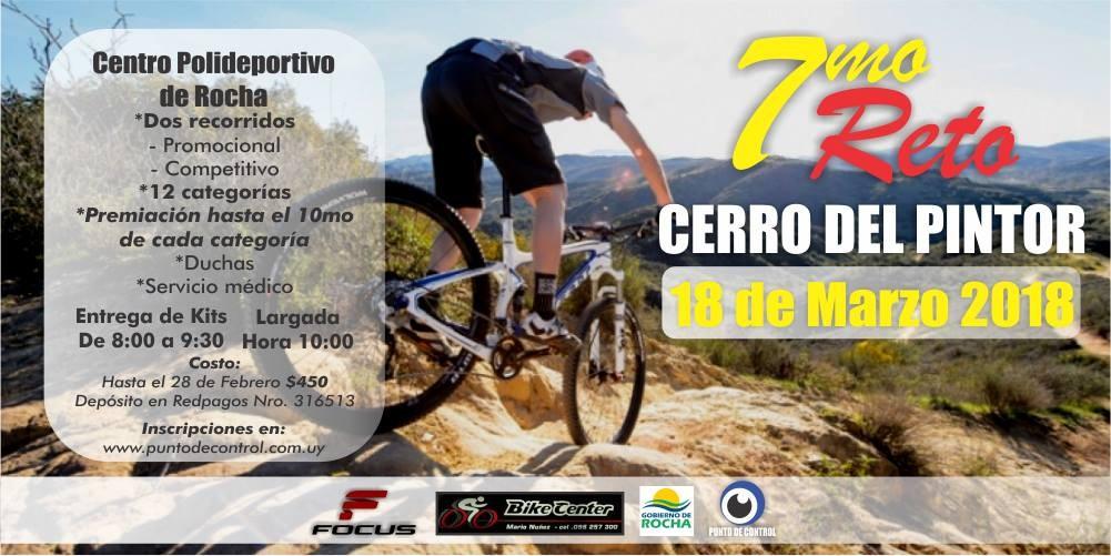 7° Reto MTB al Cerro del Pintor en Rocha