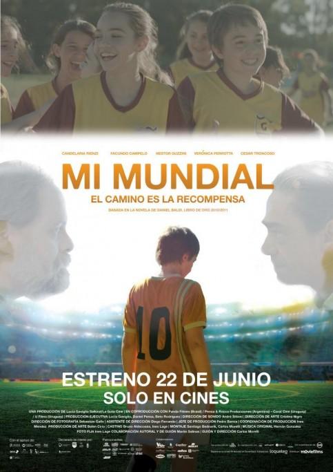 """Verano a pedal, Efecto Cine presenta: """"Mi Mundial"""" en la ciudad de Rocha"""