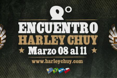 Encuentro Internacional Harley Davison en Chuy