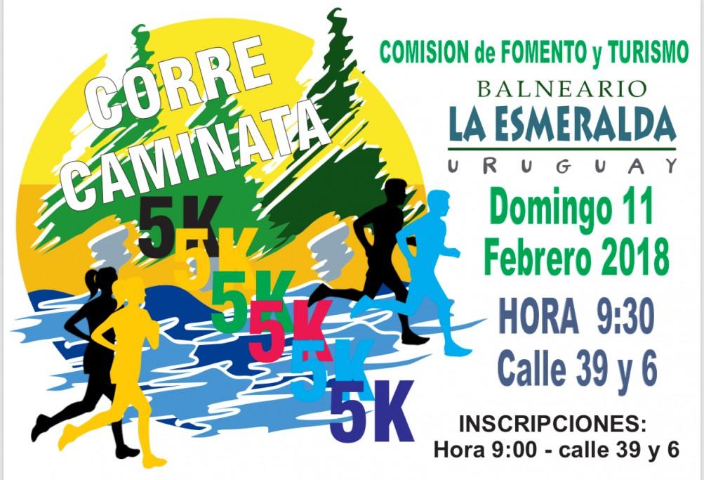 Correcaminata 5K en La Esmeralda