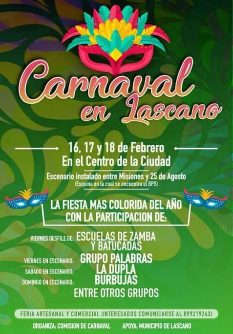 Carnaval en Lascano: la fiesta más colorida del año, con desfile y música en vivo