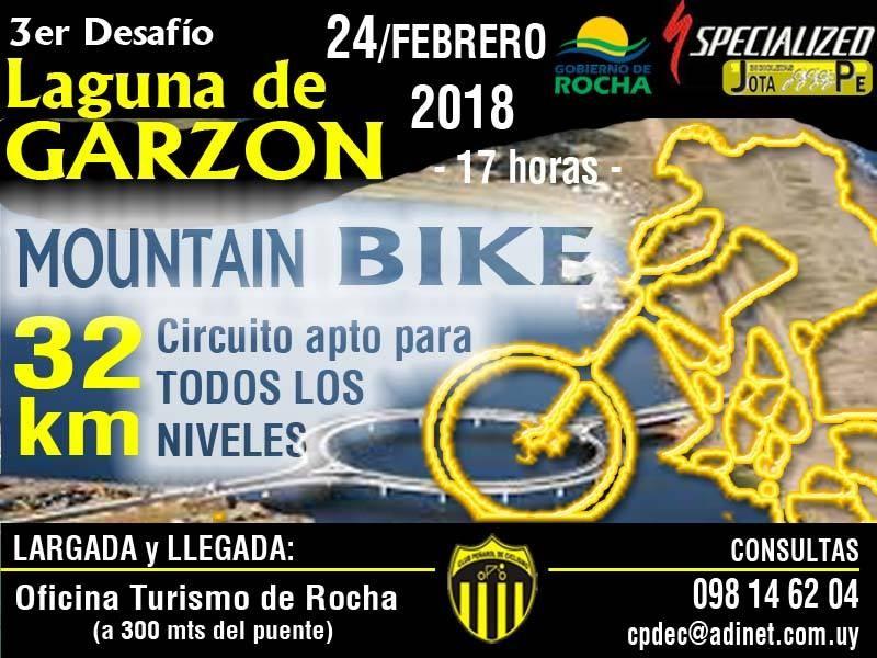3er Desafío de Mountain Bike 32K Laguna Garzón