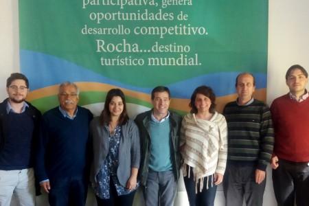 La OGD Rocha recibió al Dr. Ernesto Talvi en la Casa del Turismo