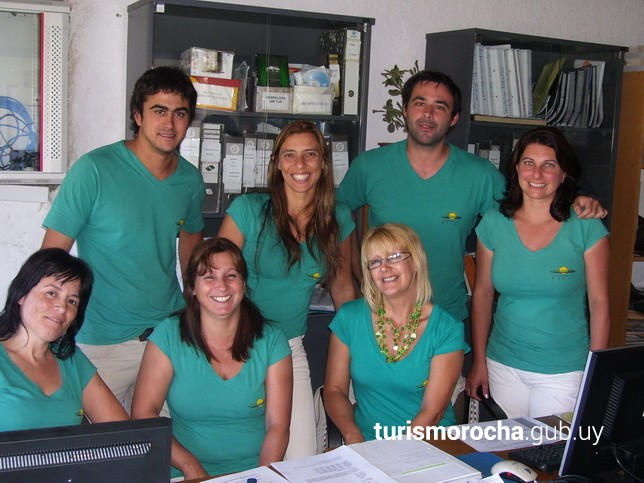 Integrantes de la Dirección de Turismo de Rocha - 2011