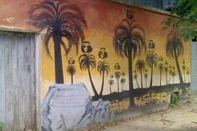 Recuperación del Parque temático de murales al aire libre de Castillos