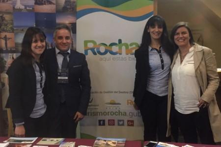 Rocha estuvo presente en la Primera Edición de Uruguay LGBT 2016