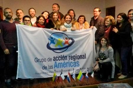 IX Reunión del Grupo de Acción Regional de las Américas - GARA - en La Paloma