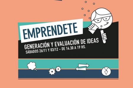 Taller gratuito en Castillos - Generación y evaluación de ideas