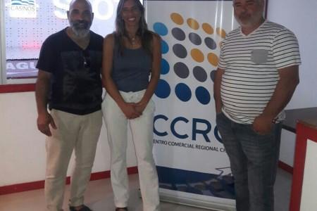 Directora de Turismo se reunió con Centro Comercial de Chuy