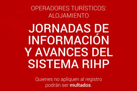 Jornadas de información y avances del sistema RIHP