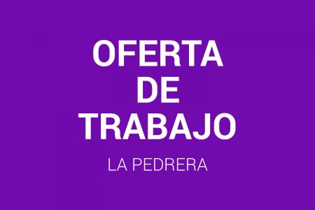 Oferta de trabajo para complejo turístico de La Pedrera