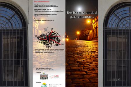 """Proyecto """"Rocha, una ciudad para caminar"""""""
