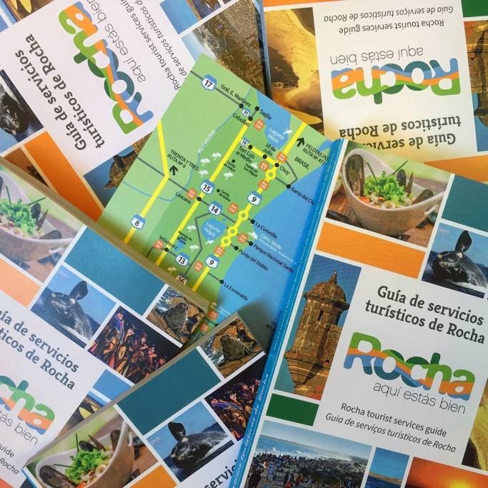 Mapas de Rocha y Guía Oficial de Turismo