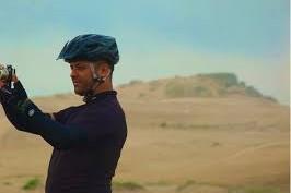 Recibimos al cicloturista Therbio Felipe de la revista Bicicleta de Brasil