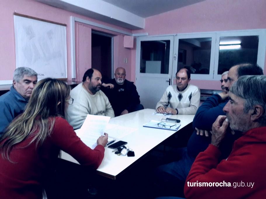 Reunión en La Coronilla