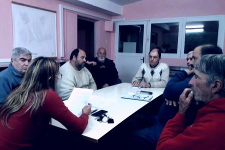 Reunión de la Directora de Turismo de Rocha con vecinos de diferentes localidades del departamento