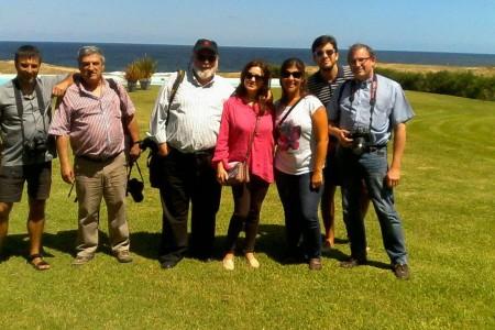 Medios de España visitaron Rocha