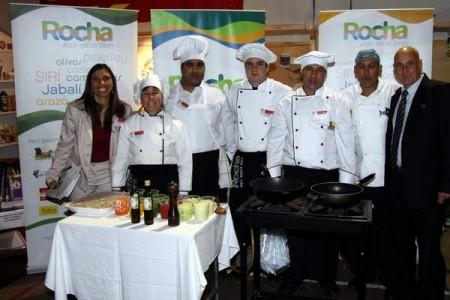 1er Premio de la Copa Cocinarte 2013 para Rocha