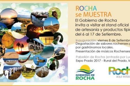 Invitación Rocha se Muestra para la Expo Prado 2017