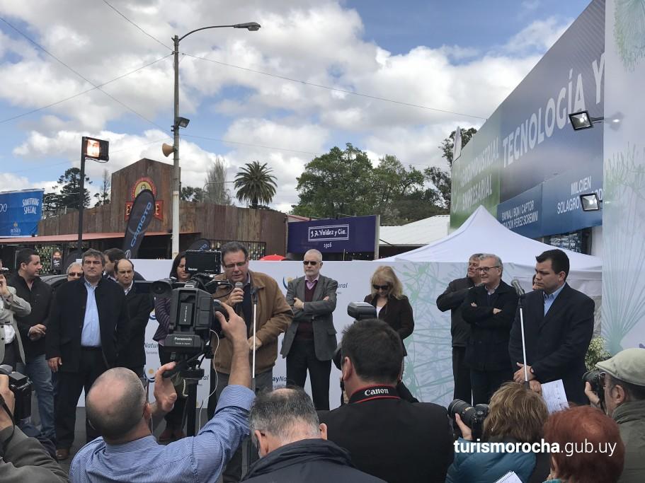 Inauguración Pabellón Uruguay Natural en Expo Prado 2017