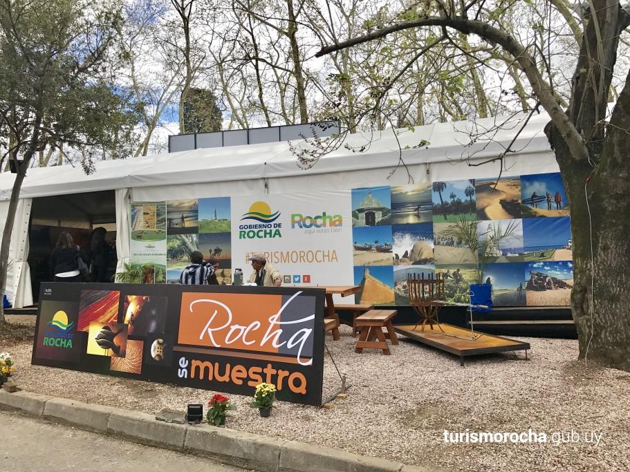 Rocha se muestra en Expo Prado 2017