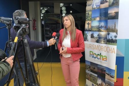 Directora de Turismo de Rocha Ana Claudia Caram