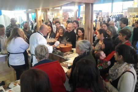 Rocha presentó sabores y productos locales en la Feria Iberoamericana de Gastronomía en Buenos Aires