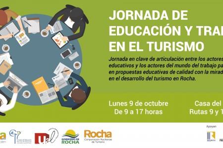 Jornada de educación y trabajo en el turismo en Rocha