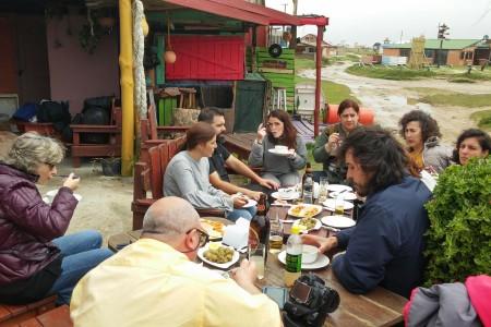 Almuerzo en Lo de Dani en Cabo Polonio