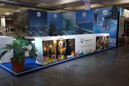 Pabellón de Uruguay Natural en la Feria Internacional de Turismo en Paraguay