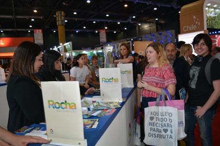 Exitosa participación de Rocha en FIT en Buenos Aires promocionando el destino de cara a la próxima temporada de verano