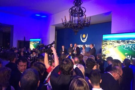 Rocha en el Lanzamiento de temporada de verano 2017 - 2018 de Uruguay Natural en Buenos Aires