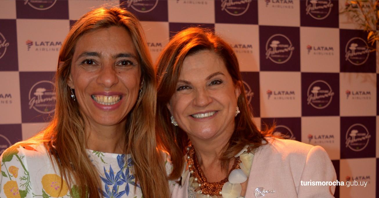 Directora de Turismo de Rocha Ana Caram y Marta Rossi CEO de Festuris Gramado