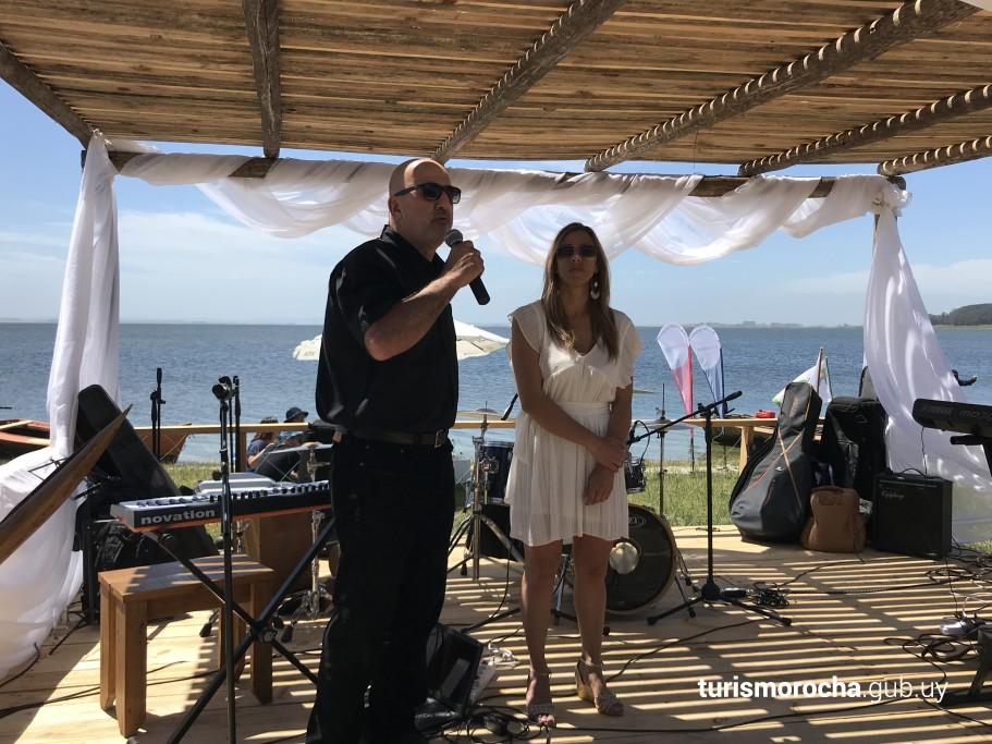 Presidente de la CRT Jorge Simeone y Directora de Turismo Ana Claudia Caram