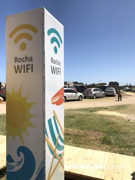 WiFi en la Laguna de Rocha