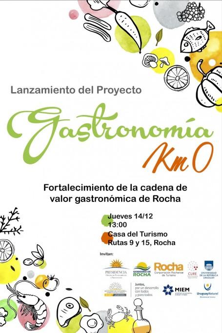 Lanzamiento Gastronomía Km 0 de Rocha
