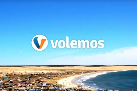Promoción de Rocha en el buscador argentino de vuelos volemos.com.ar
