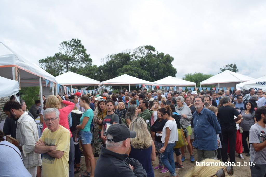 Camaronada en Barra de Valizas, festival gastronómico