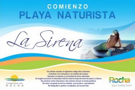 Inauguración playa naturista La Sirena en Aguas Dulces
