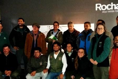 Sistemas de Áreas Protegidas de Perú y Uruguay intercambiaron experiencias en Cabo Polonio