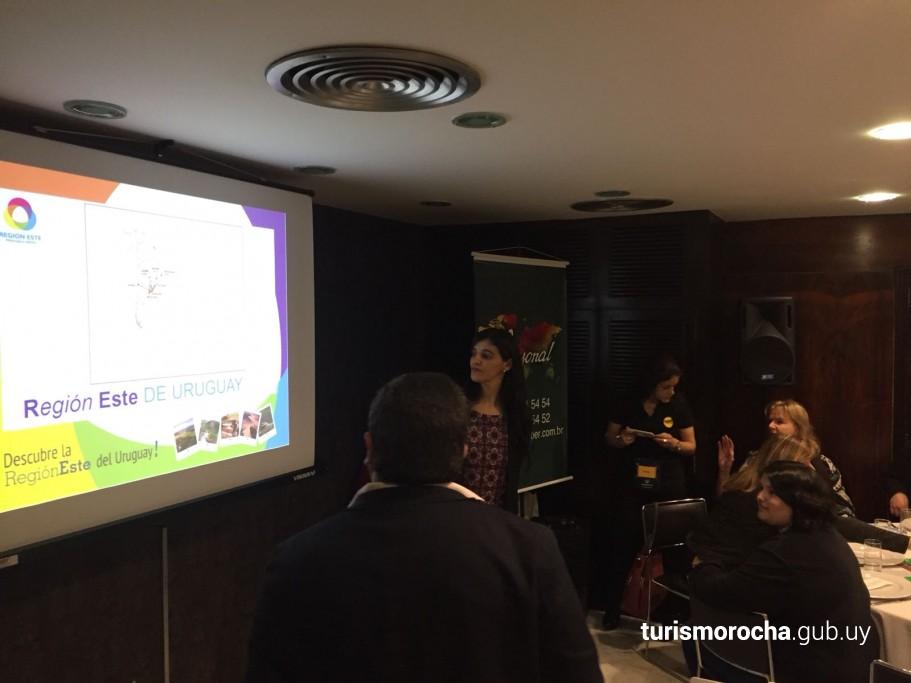 Región Este de Uruguay en reunión con agencias de viaje de Brasil