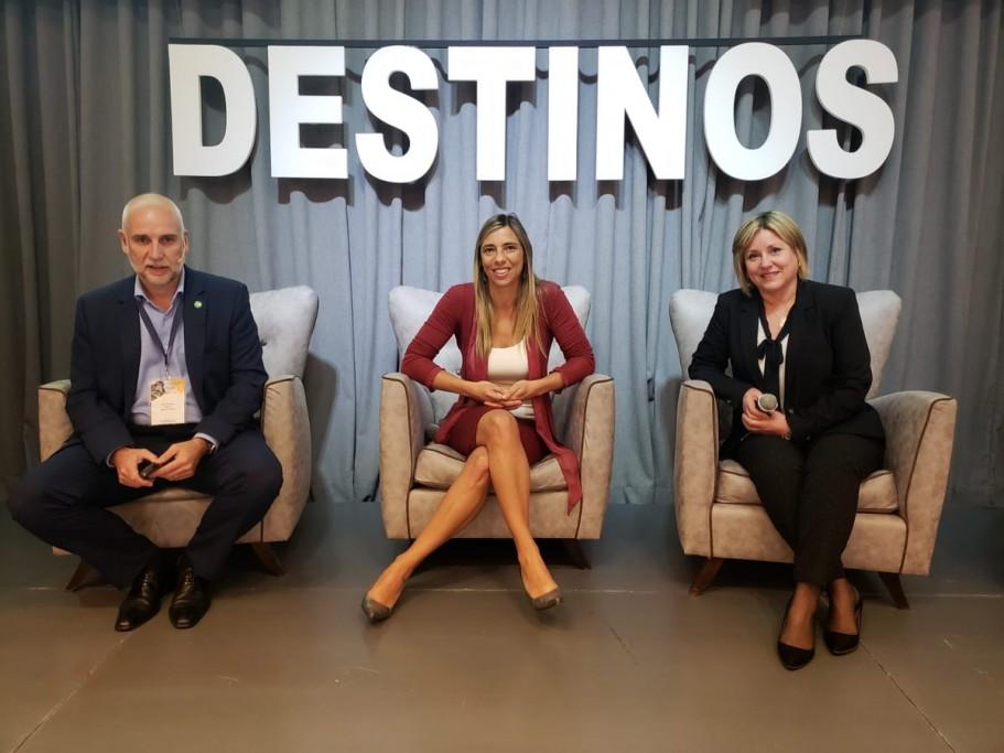 Rocha en el III Congreso Regional de Destinos en Rosario, Argentina