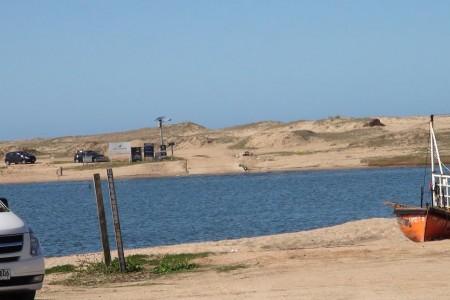 Comenzó la construcción del puente sobre la Laguna Garzón