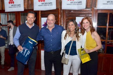 Integrantes de la OGD Rocha acompañaron a periodistas y medios de comunicación en la tradicional Fiesta de la Prensa en Montevideo